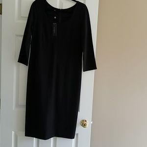 Talbots women black dress